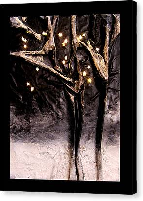 Cold Winter's Night Canvas Print