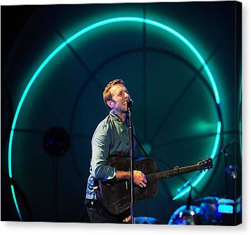 Coldplay Canvas Print - Coldplay by Rafa Rivas