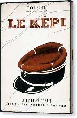 Colette: Le Kepi Canvas Print by Granger