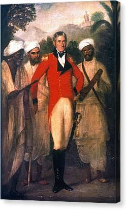 Colin Mackenzie (1754-1821) Canvas Print by Granger