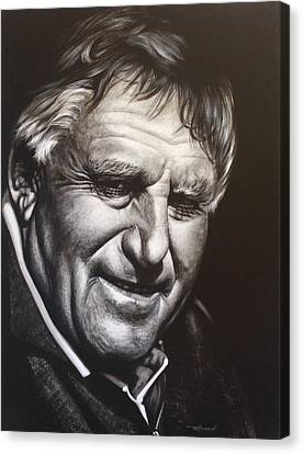 Colin Meads Canvas Print by Bruce McLachlan