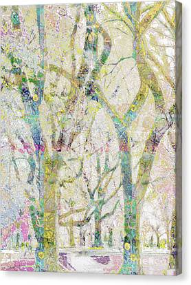 Collage Of Trees Canvas Print by Gabrielle Schertz
