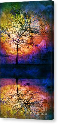 Collecting Colours For Tomorrow Canvas Print by Tara Turner