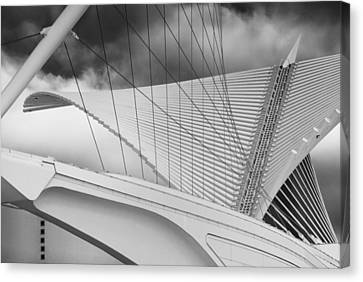 Unique Structure Canvas Print - Collector Of Art by Jack Zulli
