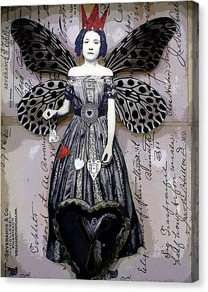Collector Of Hearts Canvas Print by Stephanie Rubiano