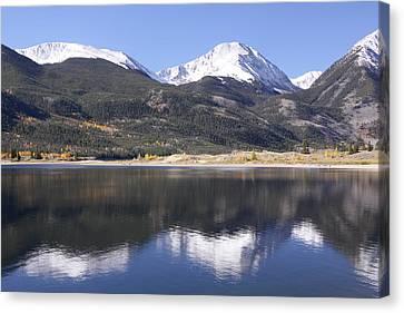 Collegiate Peaks Reflected Canvas Print