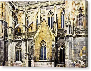 Collegiate St-martin Canvas Print