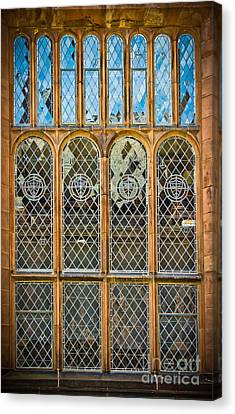 Collegiate Window - Princeton Canvas Print by Colleen Kammerer