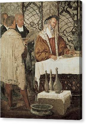 Colleoni, Bartolomeo 1400-1475. Italian Canvas Print by Everett