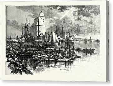 Collingwood Canvas Print - Collingwood Harbour, Canada by Canadian School