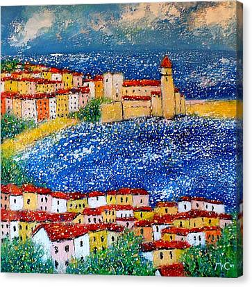 Collioure Canvas Print