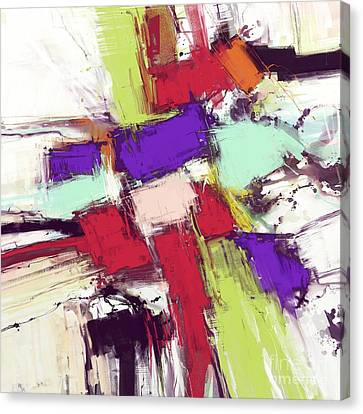 Collision Canvas Print by Keith Mills