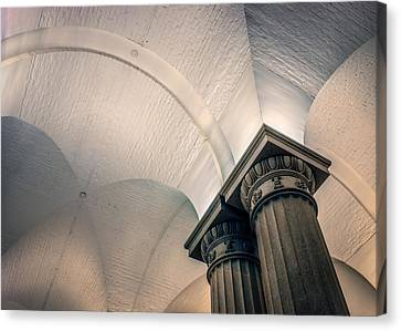 Canvas Print featuring the photograph Columns by Rob Sellers