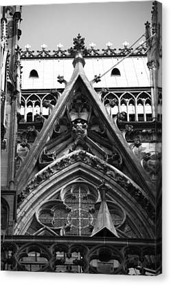 Cologne Cathedral 12 Canvas Print by Teresa Mucha