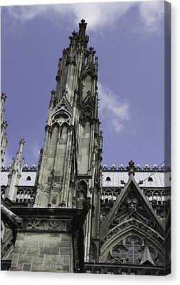 Cologne Cathedral 13 Canvas Print by Teresa Mucha