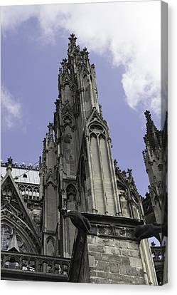 Cologne Cathedral 14 Canvas Print by Teresa Mucha