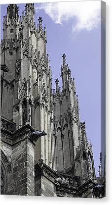 Cologne Cathedral 15 Canvas Print by Teresa Mucha