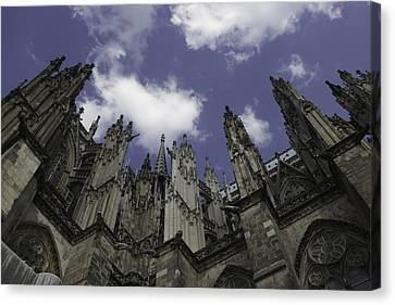 Cologne Cathedral 16 Canvas Print by Teresa Mucha