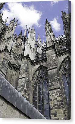 Cologne Cathedral 17 Canvas Print by Teresa Mucha