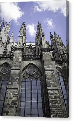 Cologne Cathedral 18 Canvas Print by Teresa Mucha