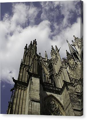 Cologne Cathedral 21 Canvas Print by Teresa Mucha