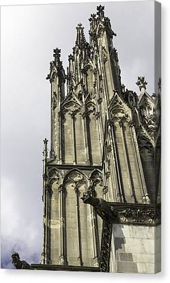 Cologne Cathedral 22 Canvas Print by Teresa Mucha