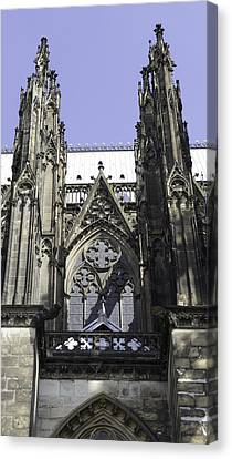 Cologne Cathedral 23 Canvas Print by Teresa Mucha