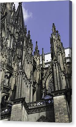 Cologne Cathedral 24 Canvas Print by Teresa Mucha