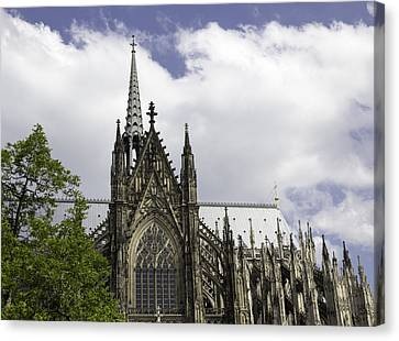 Cologne Cathedral 33 Canvas Print by Teresa Mucha