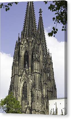 Cologne Cathedral 36 Canvas Print by Teresa Mucha