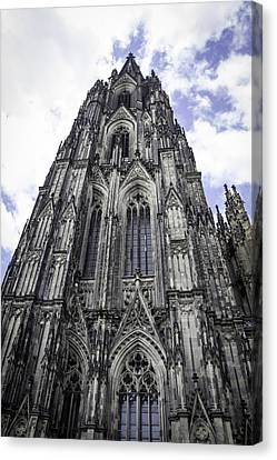 Cologne Cathedral 41 Canvas Print by Teresa Mucha