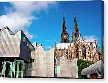 Gothic Germany Canvas Print - Cologne, Germany, Cologne Cathedral by Miva Stock