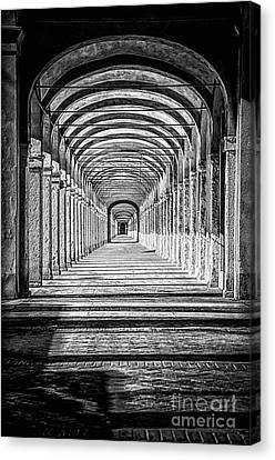 Colonnato Dei Cappuccini Canvas Print by Traven Milovich