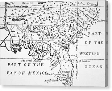 Colony Of Georgia America Canvas Print