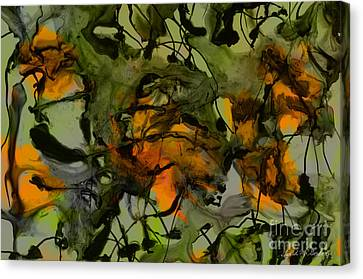 Color Abstraction Xvii Canvas Print by David Gordon