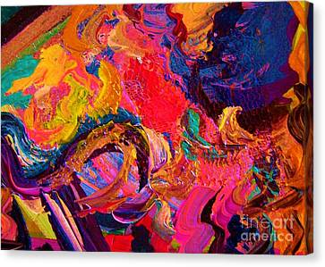Color And Texture Canvas Print by Eloise Schneider