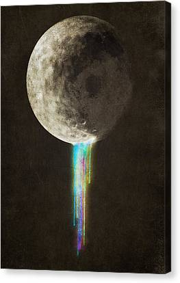 Color Bleed Canvas Print by Eric Fan
