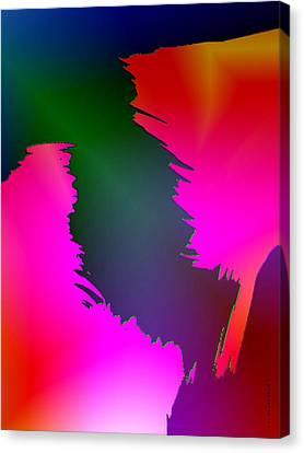 Color Breaking Canvas Print by Mario Perez