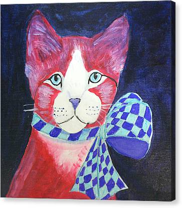 Color Cat 10 Canvas Print