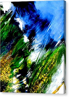 Color Collision Canvas Print