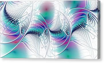 Color Elegance Canvas Print by Anastasiya Malakhova