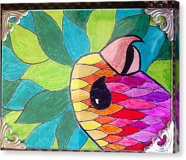 Color Flash Canvas Print