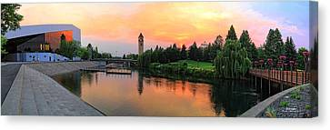 Color In The Park Canvas Print by Dan Quam