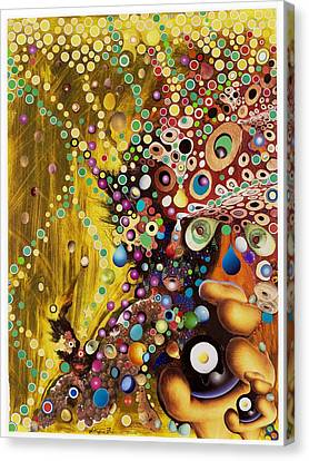 Color Intoxication Remix Canvas Print