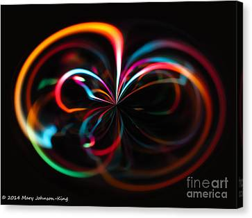 Mary King Canvas Print - Color Light by Mary  King