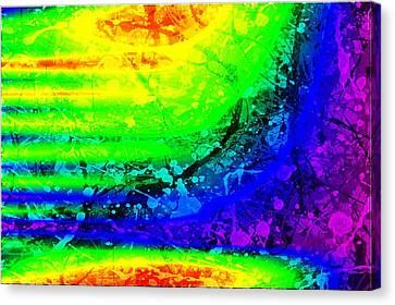 Color Maze Canvas Print