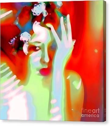 Color Me Blue Canvas Print by Jessica Shelton