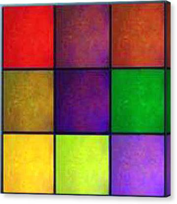 Color Me Happy Canvas Print by RjFxx at beautifullart com
