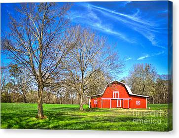 Color Me Red 2 Canvas Print by Reid Callaway