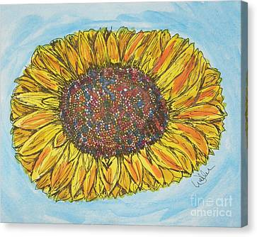 Color Me Sunshine Canvas Print